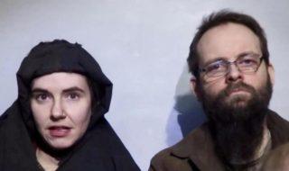 ostaggio canadese talebani stupro moglie