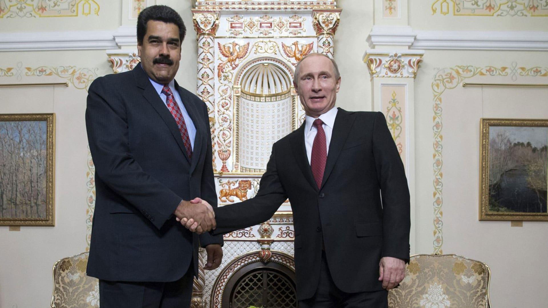 Maduro incontra Putin, 'grazie per il sostegno'