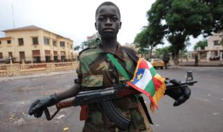 repubblica centrafricana-combattente