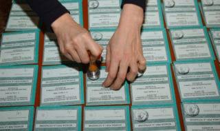 Schede elettorali alle elezioni italiane