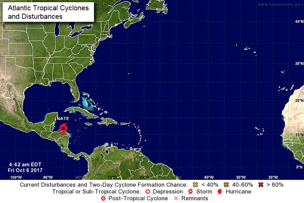Nate, tempesta devasta Costa Rica, Nicaragua e Honduras. E minaccia New Orleans