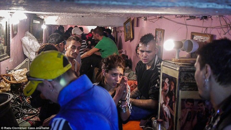 Bucarest, vita nelle fogne