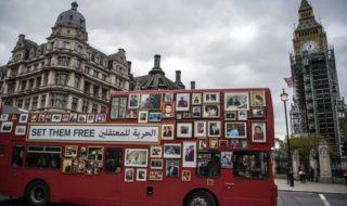 Londra bus foto Siria Assad