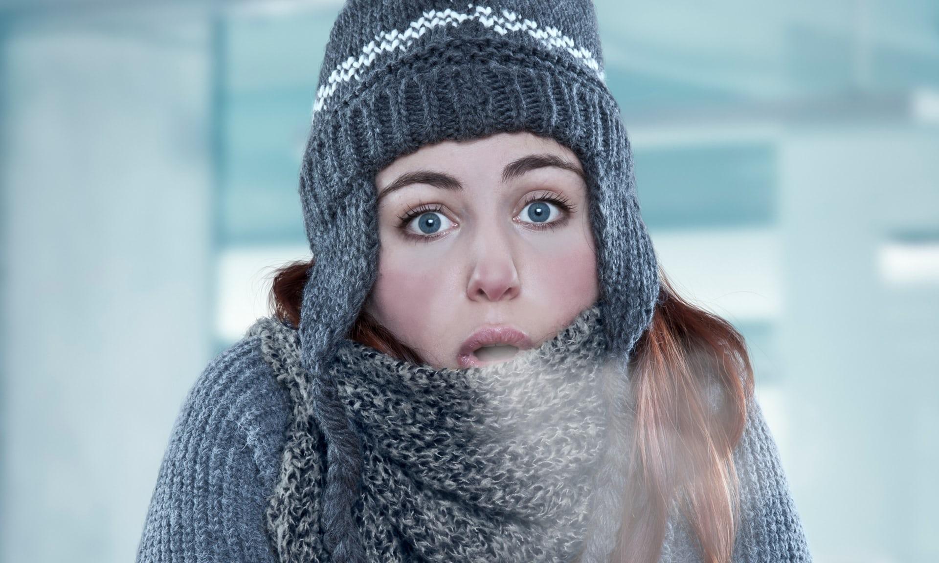 Risultati immagini per donne freddo