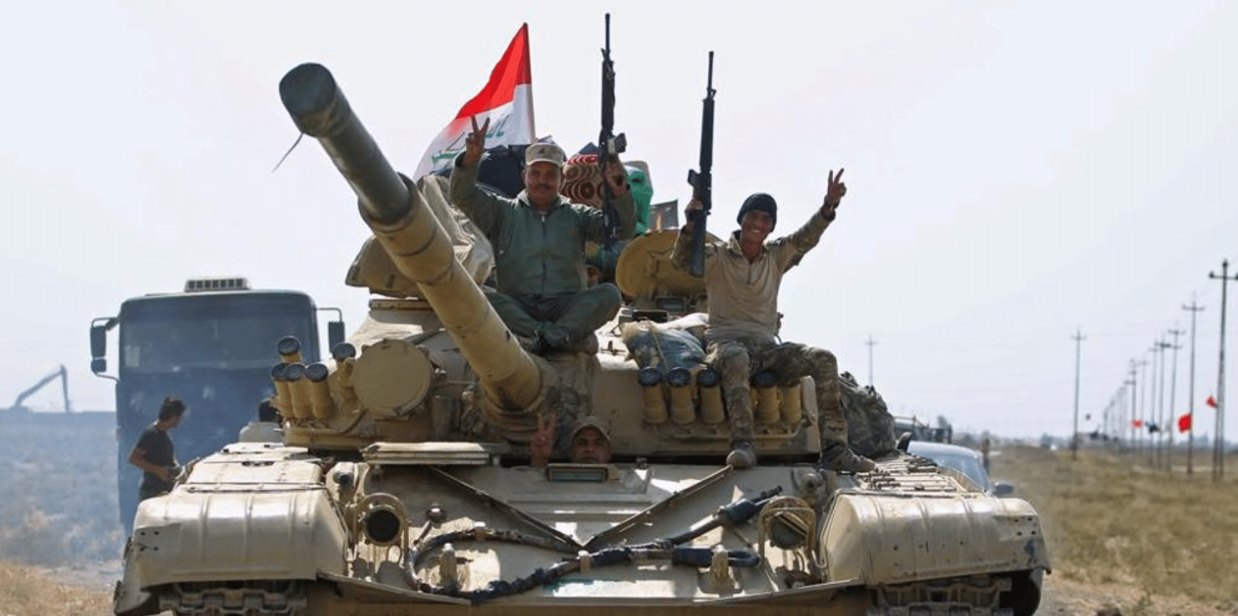 Risultati immagini per tank iracheni a Kirkuk immagini