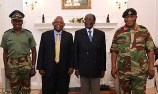 Dimissioni Mugabe