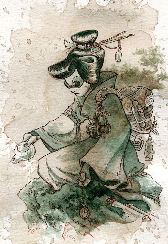 Tea-draw