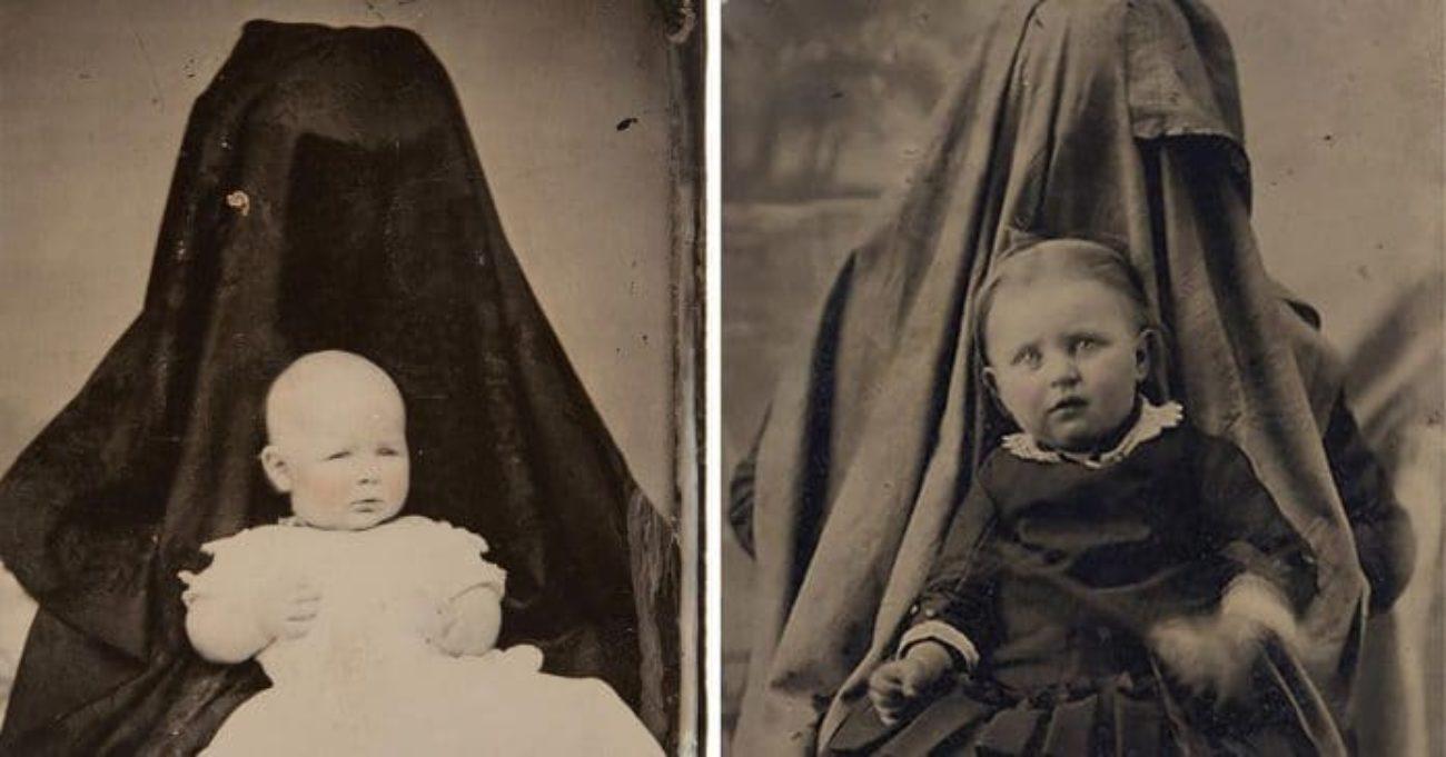 foto bambini madri nascoste