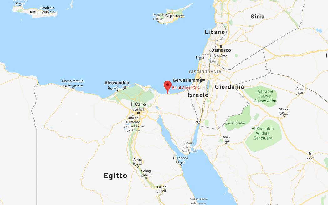 Attentato terroristico in una moschea nel Sinai: sale a 184 il numero dei morti, 125 i feriti