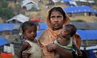 rifugiati rohingya in Bagladesh