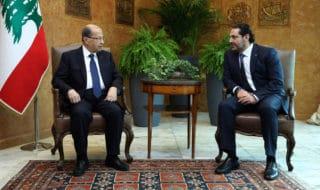 Hariri e Aoun