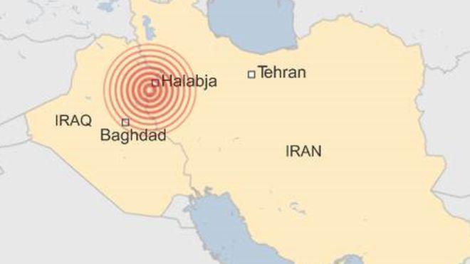 iraq terremoto confine iran