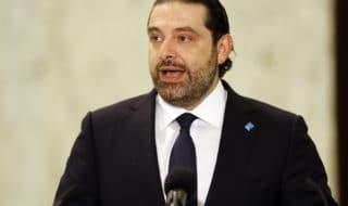 Il primo ministro dimissionario del Libano Saad Hariri.