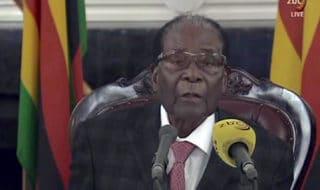 Il presidente dello Zimbabwe Robert Mugabe