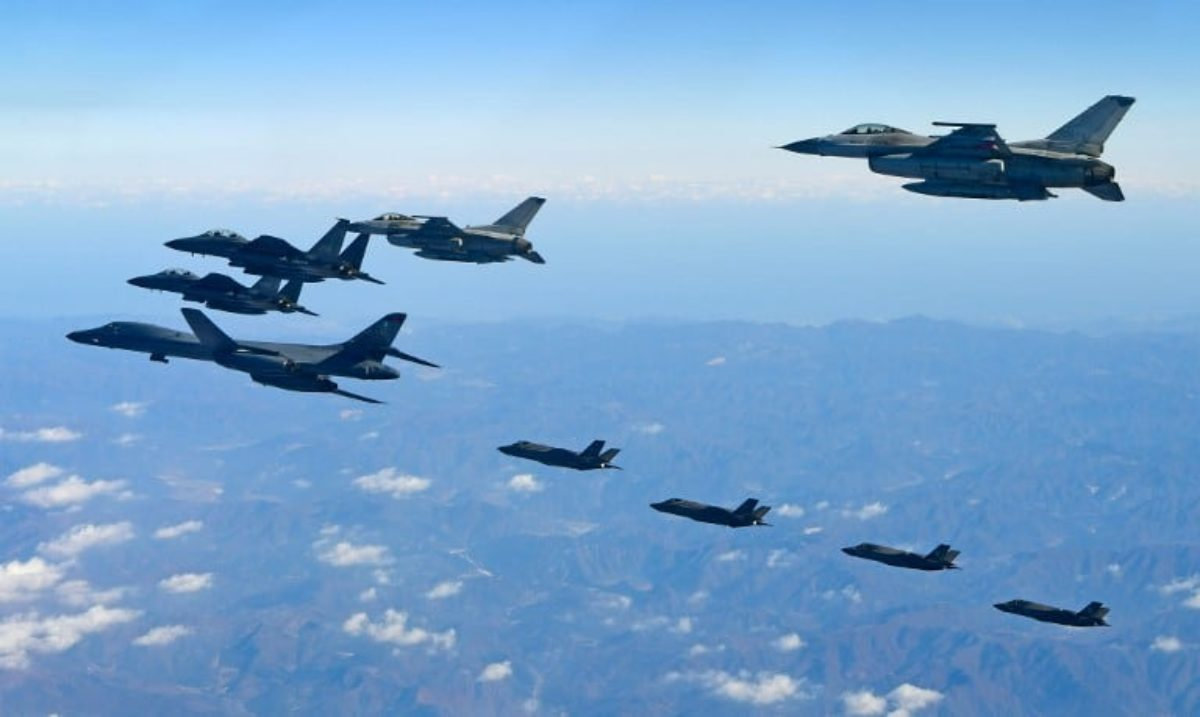 SKorea-US-NKorea-military-politics
