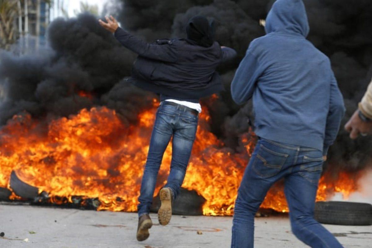 scontri palestinesi