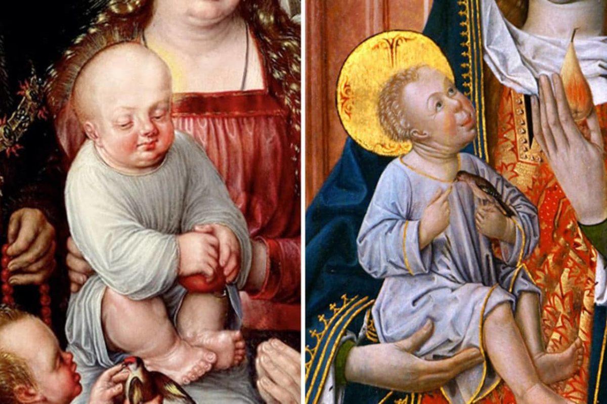 spesso Le peggiori rappresentazioni di bambini nei quadri dell'arte del  QB03