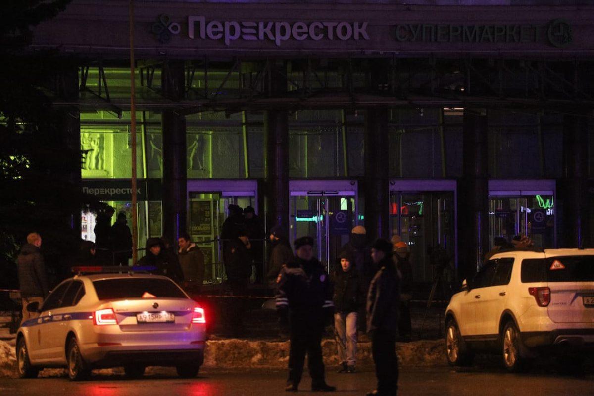 Esplosione San Pietroburgo, ordigno rudimentale in un supermercato