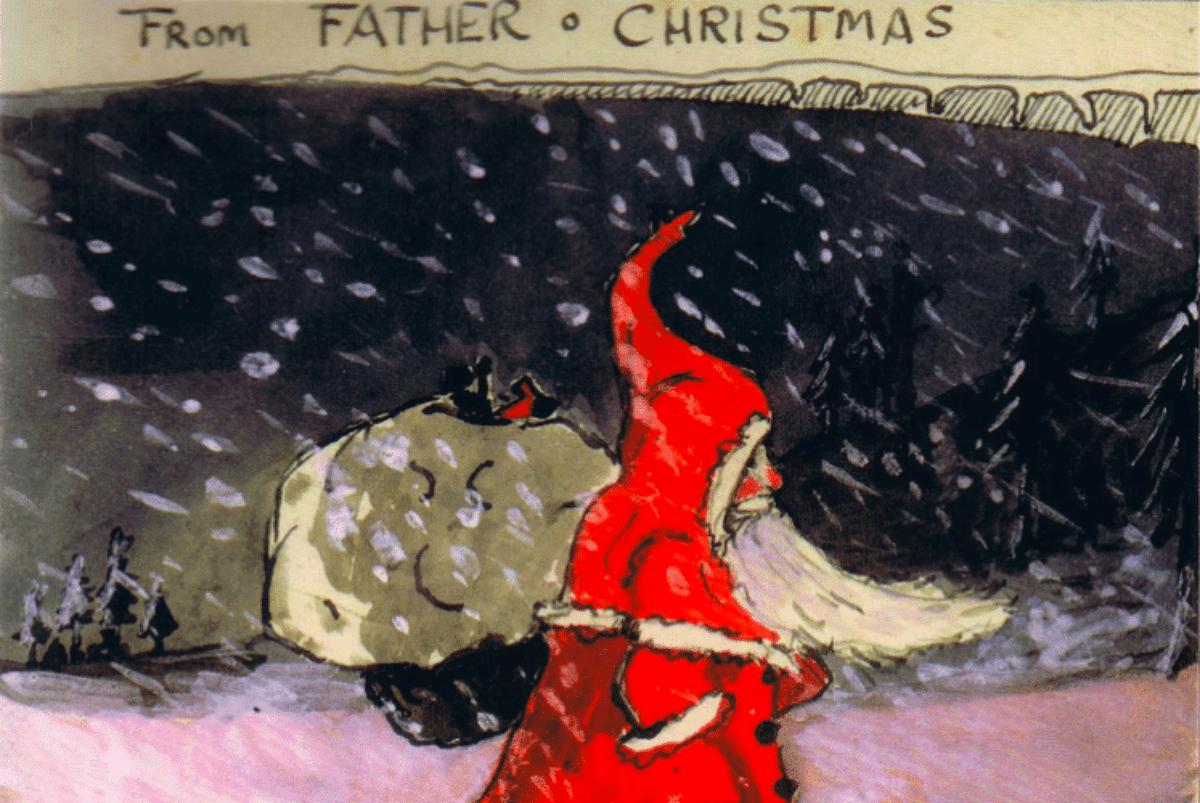 Immagini Di Lettere Di Natale.Le Lettere Di Natale Che Ogni Anno Tolkien Inviava Ai Suoi