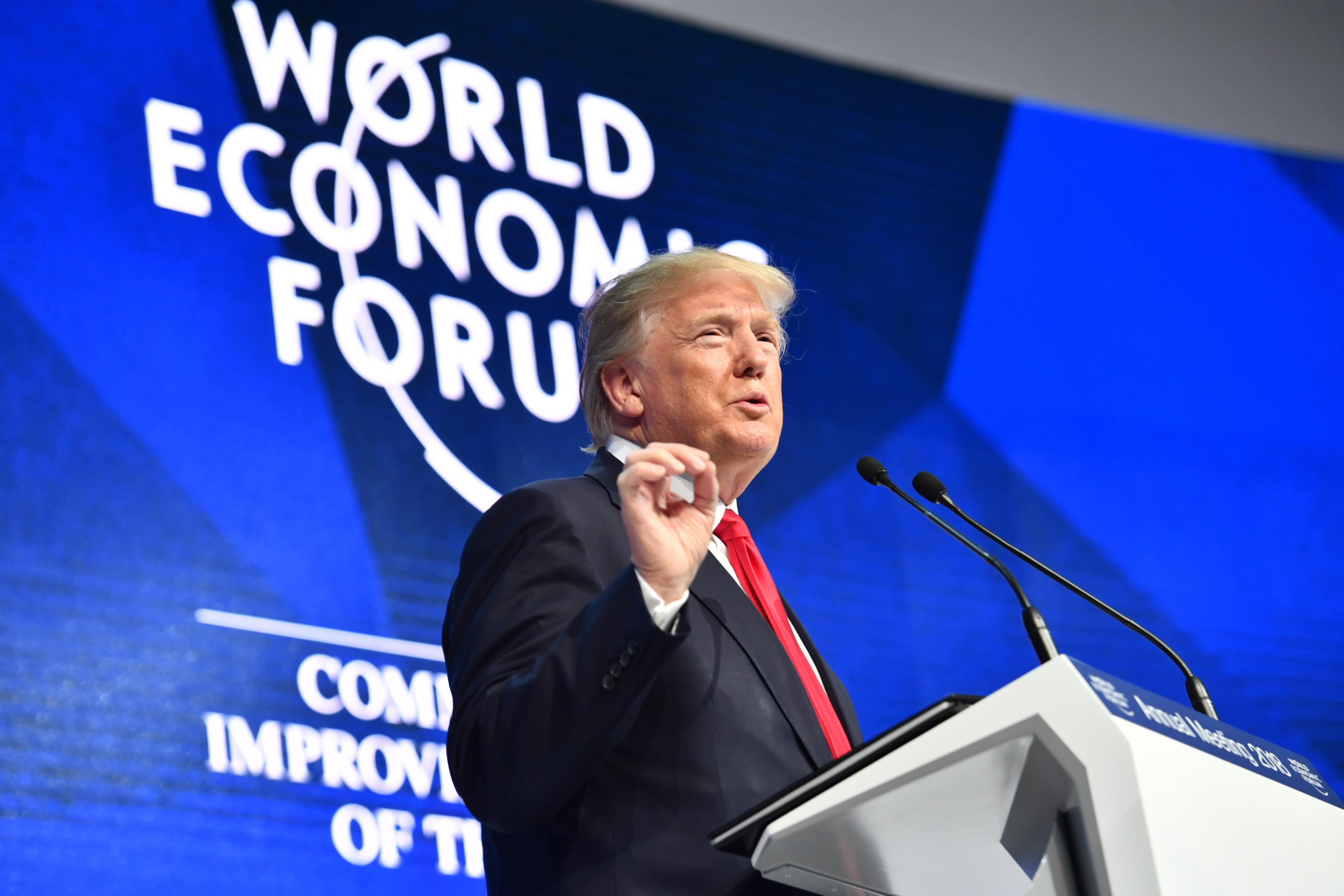 Che cosa ha detto donald trump al world economic forum di for Ceo cosa significa
