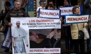 proteste papa cile