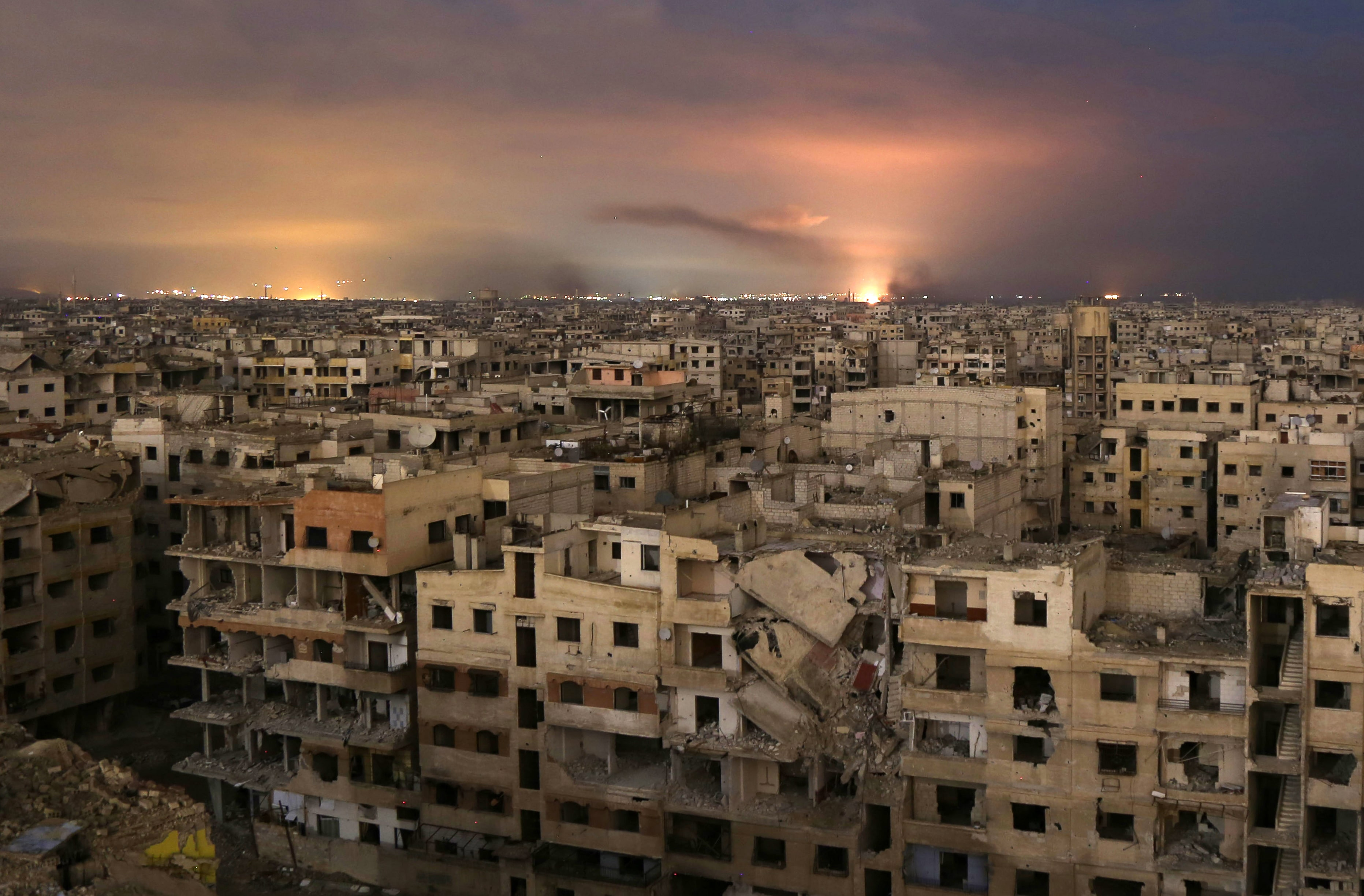 ghouta bombardamenti