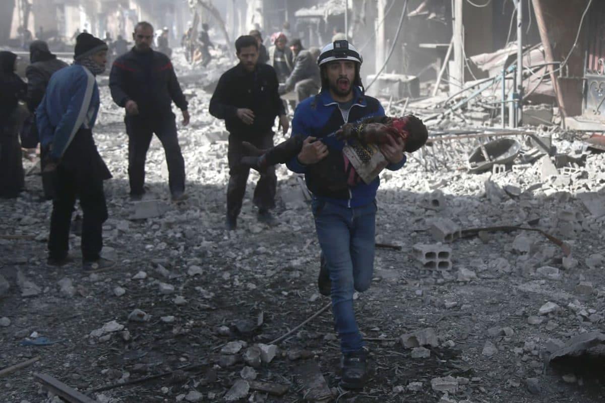 Ghouta assedio testimonianze