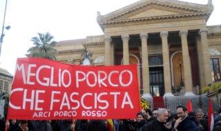 roma manifestazione contro fascismo