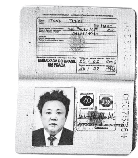 Ecco le scansioni del passaporto brasiliano di Kim Jong-un e suo padre