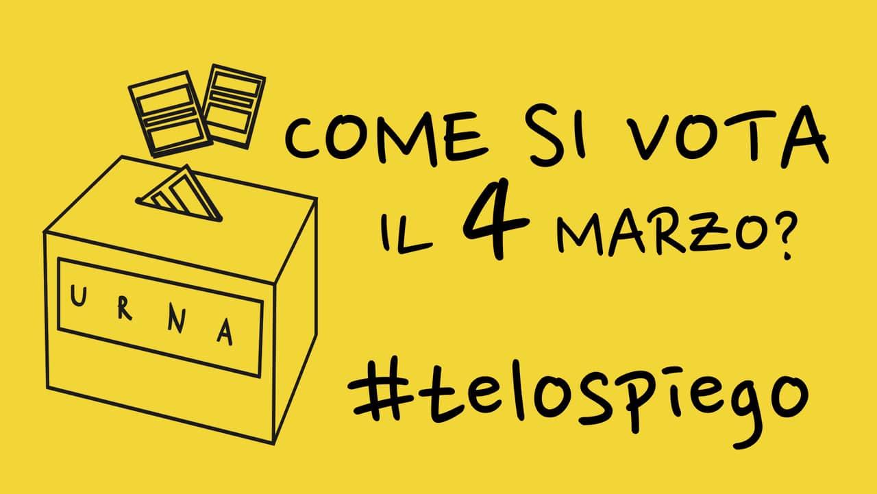 elezioni come si vota domenica 4 marzo