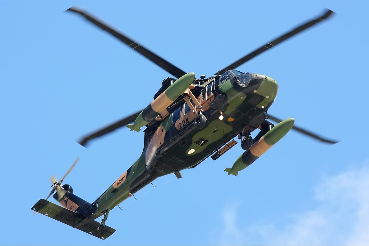 Un Elicottero : Precipita elicottero usa nell iraq occidentale almeno morti tpi