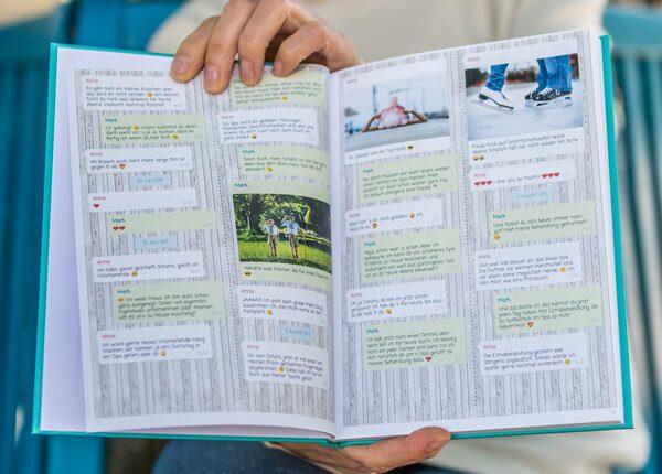 Chat libro Whatsapp