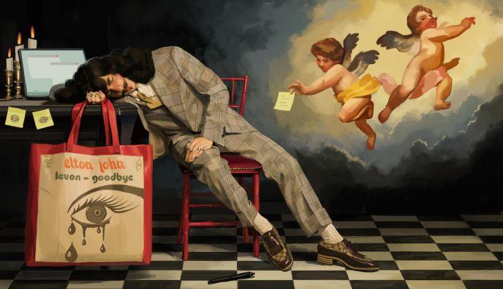 illustrazioni pubblicità gucci