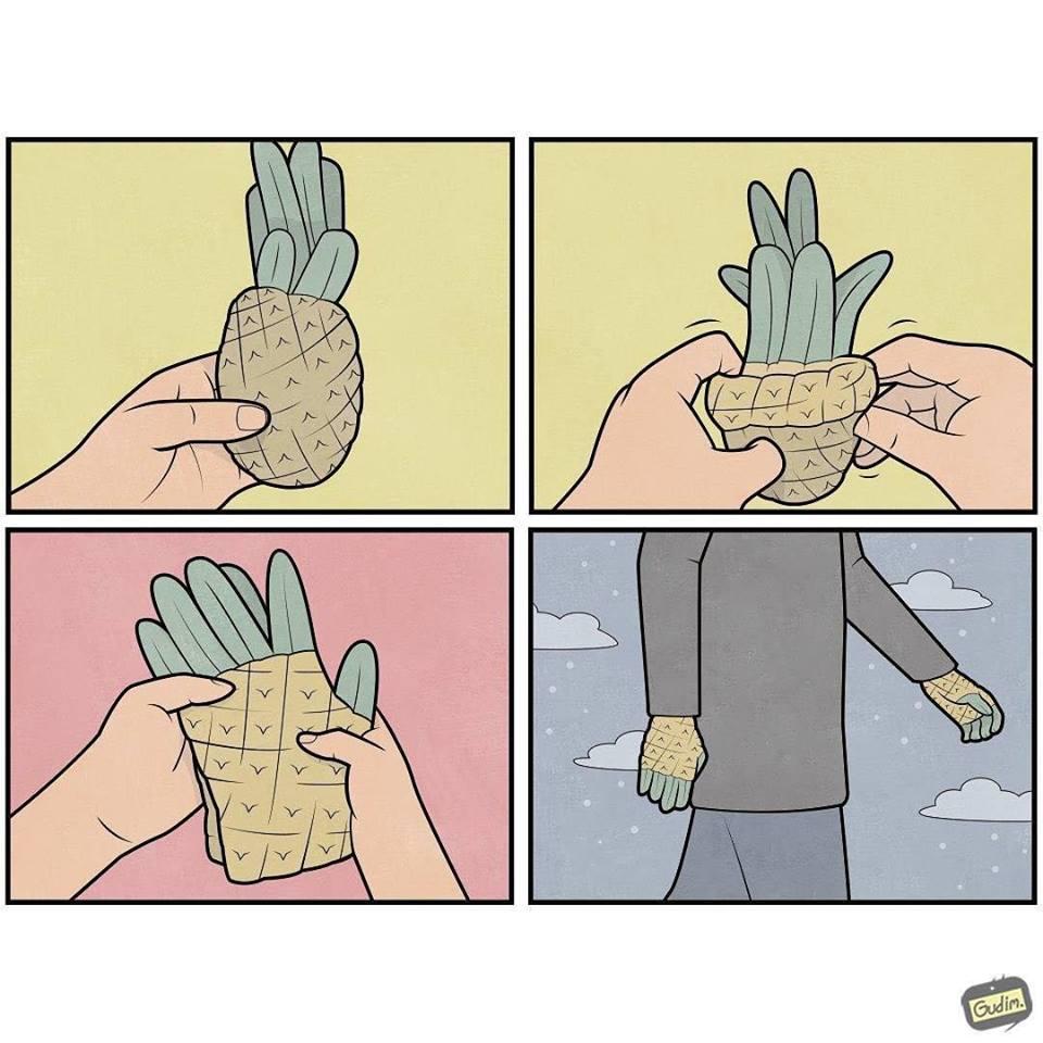 illustrazioni sarcastiche Anton Gudim