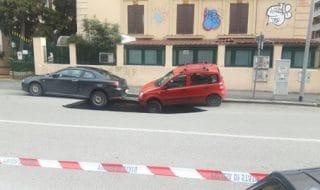 Maxi voragine Roma foto racconto