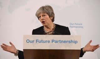 discorso May Brexit