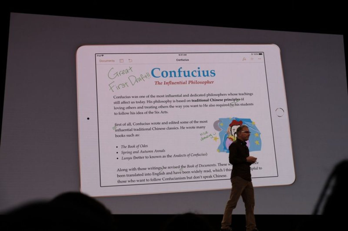 apple nuovo ipad studenti
