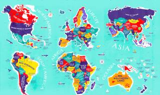 significato nomi paesi mondo