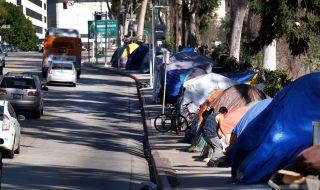 usa los angeles senzatetto crisi