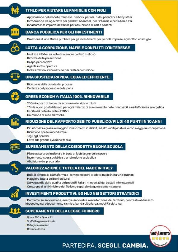 377b0127a8 Il programma elettorale del Movimento 5 Stelle | Elezioni 2018 | TPI