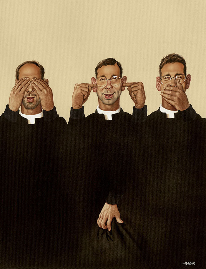 illustrazioni Gerhard Haderer società degrado