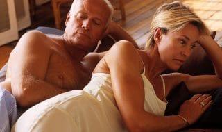 menopausa non sopportare mio marito tocca