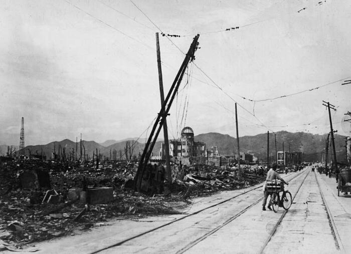 Hiroshima foto effetti bomba atomica
