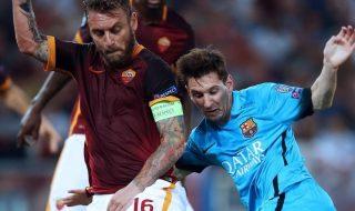 Barcellona Roma formazioni