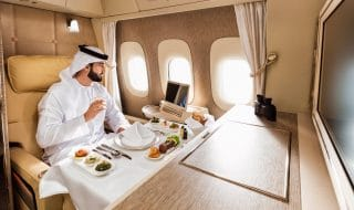 emirates Suite Privata prima classe