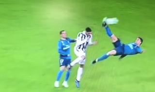 rovesciata Ronaldo Juve