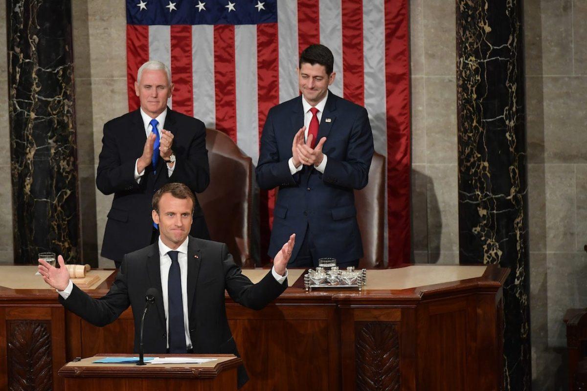 Macron Congresso
