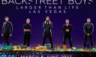 backstreet boys 25 anni concerti