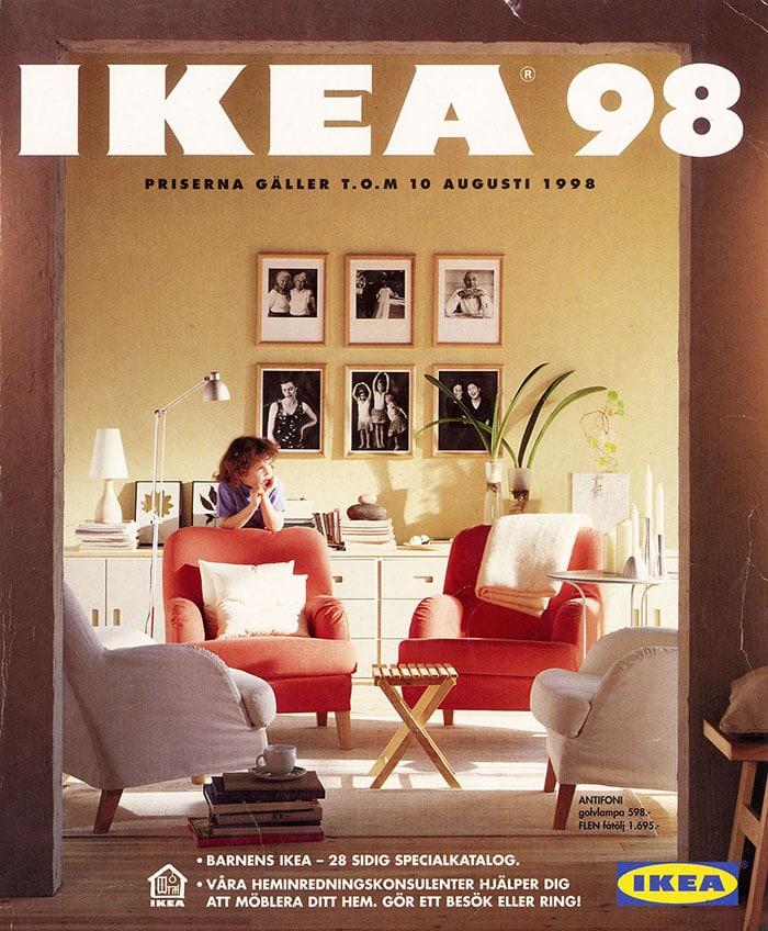 I cataloghi di ikea vintage dal 1951 al 2000 ecco com 39 era for Arredo casa 2000