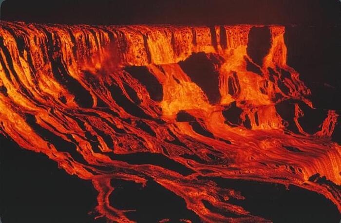 foto cupola lava hawaii